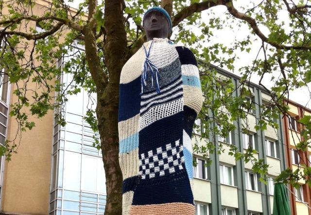 StreetArt Bochum N.A.T.U.R. Festival Urban Knitting