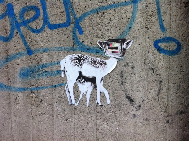 StreetArt Düsseldorf Bambi