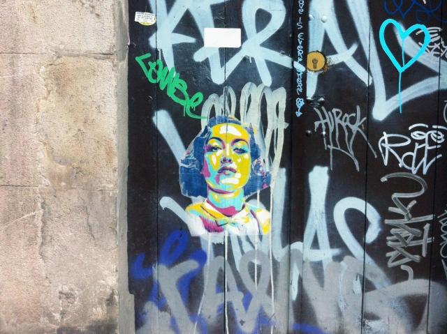 StreetArt Barcelona, BTOY, Foto: Sebastian Hartmann