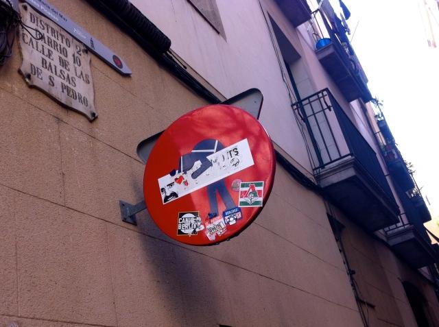 StreetArt Barcelona, Unknown Artist, Foto: Sebastian Hartmann