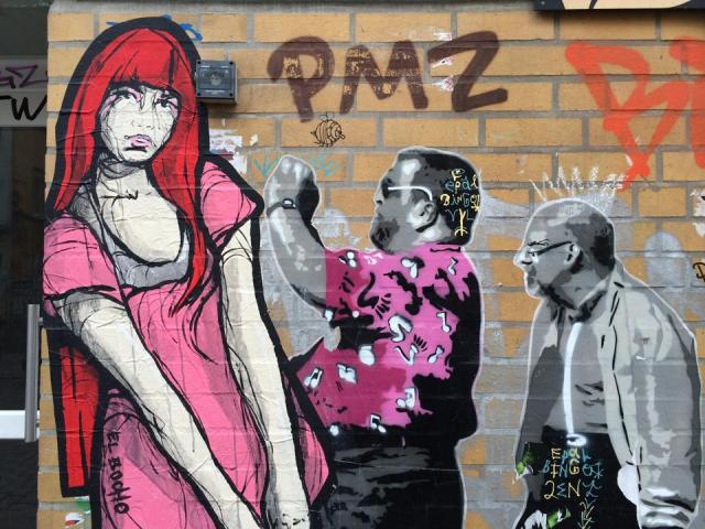 StreetArt Hamburg, El Bocho / FATAL, Foto: Sebastian Hartmann