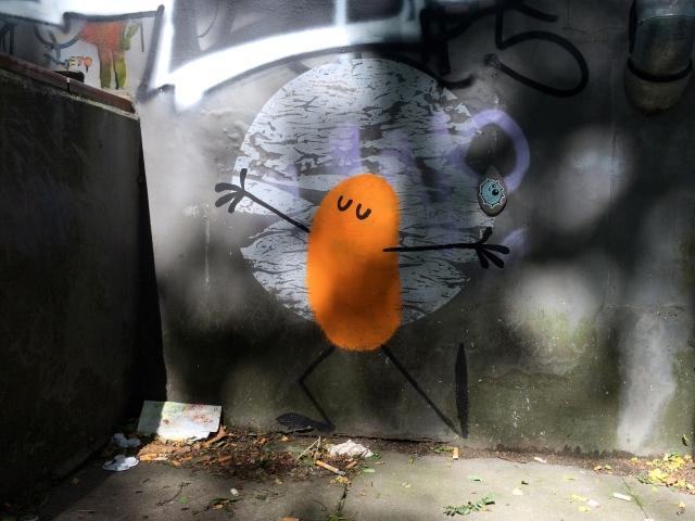 StreetArt Hamburg, Dave The Chimp, Foto: Sebastian Hartmann