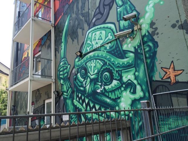 StreetArt Hamburg, BASE 23, Foto: Sebastian Hartmann
